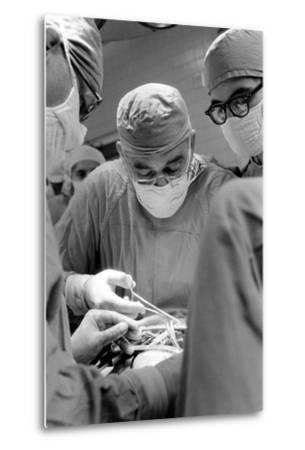 Dr. Adrian Kantrowitz in Surgery. Brooklyn, NY June 1966