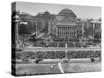 Dwight D. Eisenhower's Inauguration as President of Columbia University