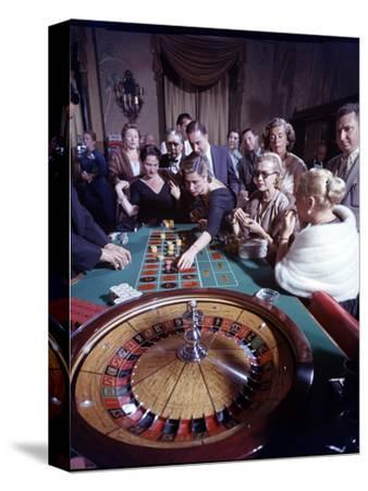 February 11, 1957: Tourists Gambling at the Nacional Hotel in Havana, Cuba