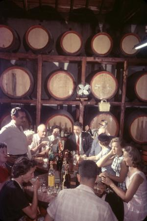 February 11, 1957: Trocadero Rum Distillery in Havana, Cuba