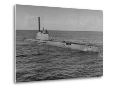 German Snorkle Submarine That Ussr Got at the End of the War