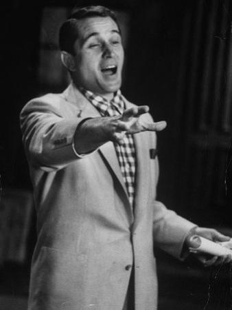 Popular Italo-American Song Singer Perry Como