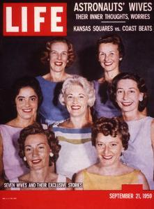 Portrait of Wives of Projest Mercury Astronauts, September 21, 1959 by Ralph Morse