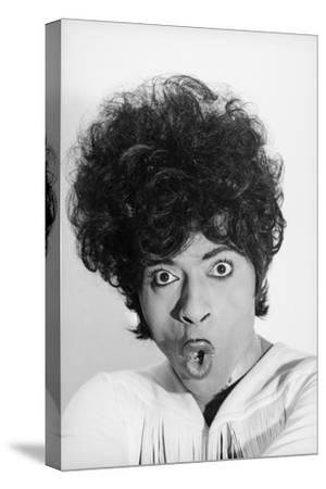 Singer and Musician Little Richard Posing in Mod Fringed Shirt, 1971