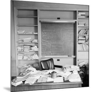 Study Belonging to Albert Einstein by Ralph Morse