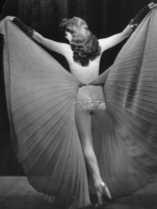 View of a Burlesque Show Being Used to Boost US Army Soldiers Morale by Ralph Morse