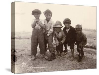 Maori Boys, Whakarewarewa, c.1910