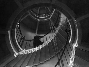 Cape Henry Lighthouse Interior by Ralph Smith