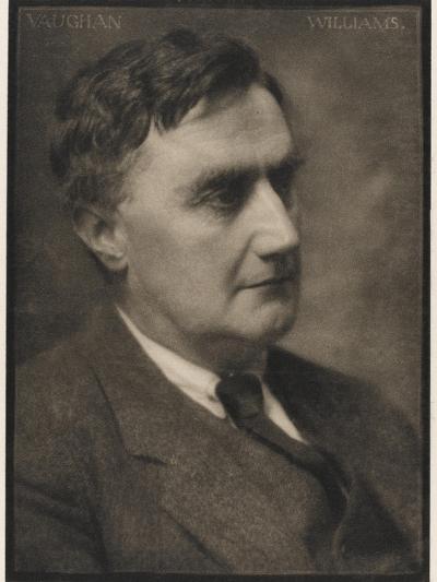 Ralph Vaughan Williams Composer--Photographic Print