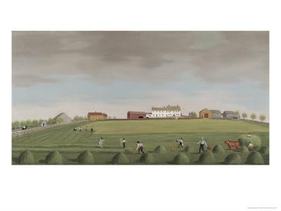 Ralph Wheelocks Farm, c.1822-Francis Alexander-Giclee Print