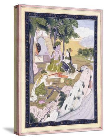 Rama and Sita with Lakshman, C. 1800