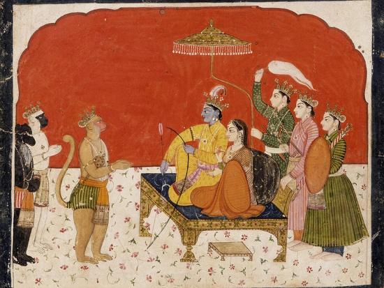 Rama's Court--Art Print