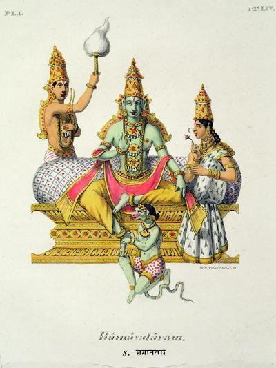 Rama--Giclee Print