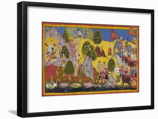 Ramayana Ayodhya Kanda--Framed Giclee Print