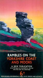 Rambles on the Yorkshire Coast and Moors, LNER, c.1923-1947