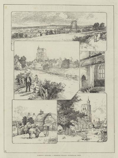 Rambling Sketches, a Deserted Village, Wittersham, Kent--Giclee Print