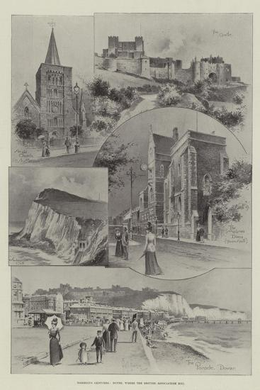 Rambling Sketches, Dover, Where the British Association Met--Giclee Print