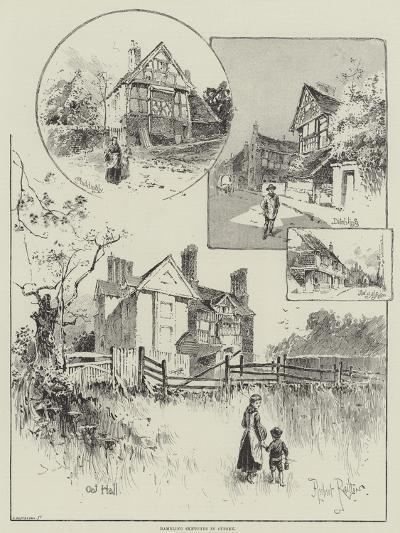 Rambling Sketches in Sussex-Herbert Railton-Giclee Print