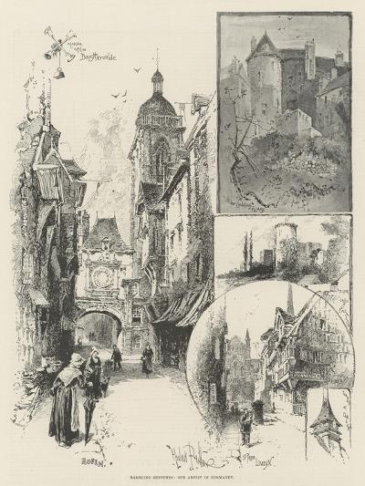 Rambling Sketches, Our Artist in Normandy-Herbert Railton-Giclee Print