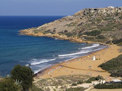Ramla Bay, Gozo, Malta, Mediterranean, Europe-Hans Peter Merten-Photographic Print
