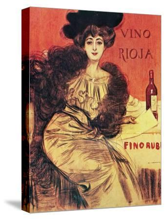 "Advertisement. ""Rioja Wine.modernist Style. Early 20th Century. Spain"