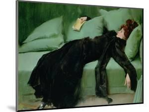 After the Ball by Ramon Casas i Carbo