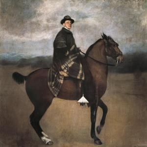 Equestrian Portrait of King Alfonso XIII by Ramon Casas i Carbo