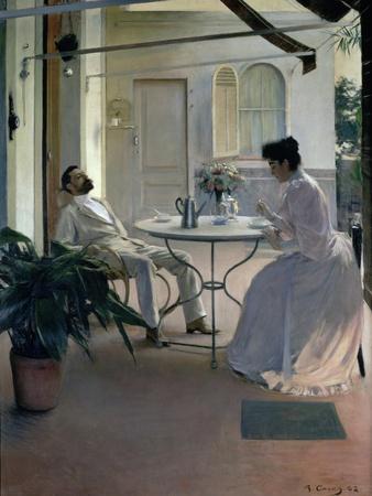 Open Air Interior, Barcelona, 1892