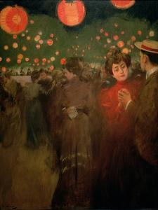 The Open-Air Party, c.1901-02 by Ramon Casas i Carbo