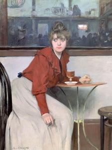 Madeleine, 1892 by Ramon Casas