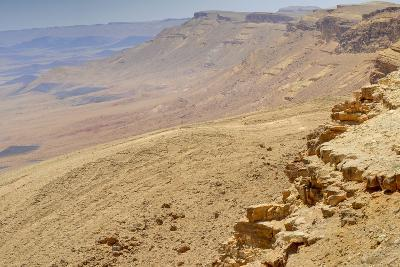 Ramon Crater, Negev In Israel--Photographic Print