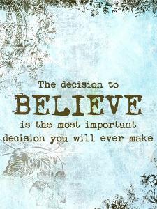 Choose to Believe by Ramona Murdock