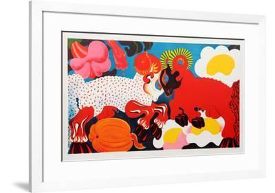 Rams-Nicolas Uriburu-Framed Collectable Print
