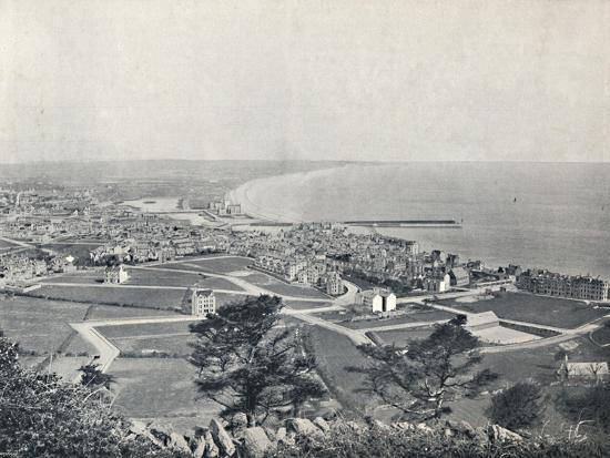 'Ramsey - From the Albert Tower', 1895-Unknown-Photographic Print