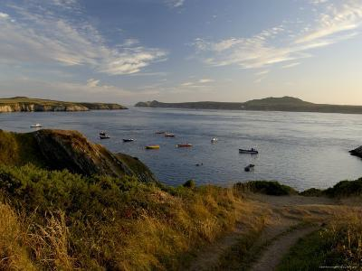 Ramsey Sound from St. Justinian's, Pembrokeshire Coast National Park, Wales, United Kingdom-Rob Cousins-Photographic Print