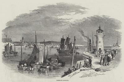 Ramsgate Harbour-Myles Birket Foster-Giclee Print