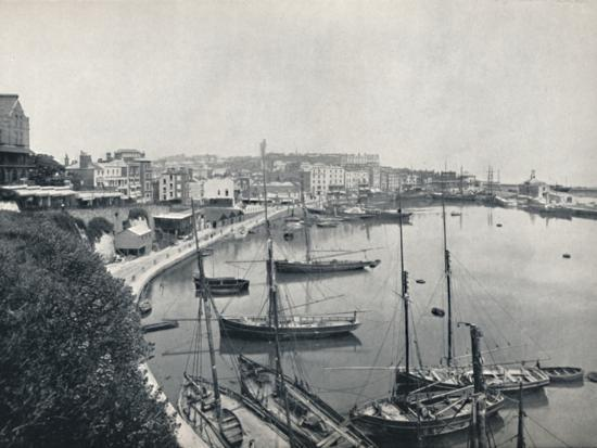 'Ramsgate - The Harbour', 1895-Unknown-Photographic Print
