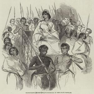 Ranavalona, Queen of Madagascar, in Her State Howdah