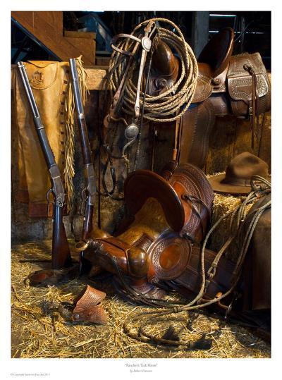 Rancher's Tack Room-Robert Dawson-Art Print