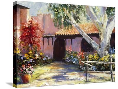 Rancho de los Cerros-Mary Schaefer-Stretched Canvas Print