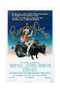 Rancho Deluxe, US poster, Elizabeth Ashley, 1975