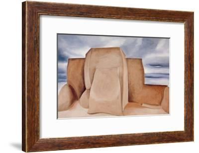 Ranchos Church, New Mexico-Georgia O'Keeffe-Framed Art Print