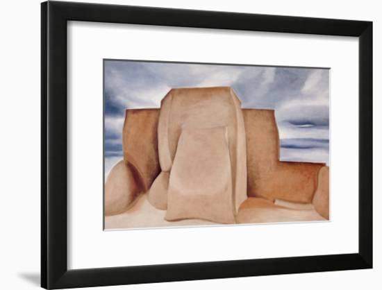 Ranchos Church, New Mexico-Georgia O'Keeffe-Framed Art Print