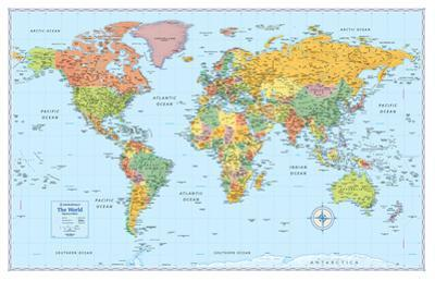 Rand Mcnally Signature World Map