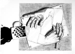 Coffee with M.C. Escher by Randall Browning