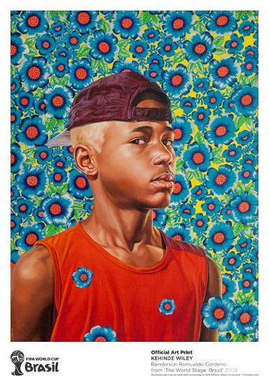randerson romualdo cordeiro collectable print by kehinde wiley | art.com