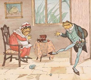 A Frog He Would a Wooing Go by Randolph Caldecott