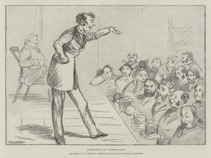 Addressing His Constituents by Randolph Caldecott