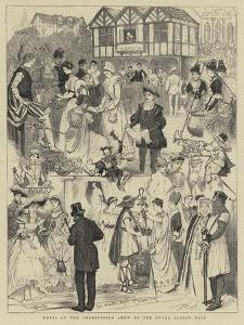 Notes at the Shaksperian Show at the Royal Albert Hall by Randolph Caldecott
