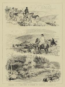 Sketches at a Deer Hunt on Exmoor by Randolph Caldecott